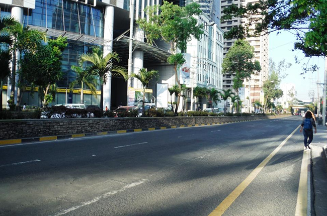 Julia Vargas Ave. will now have dedicated motorcycle and bicycle lanes