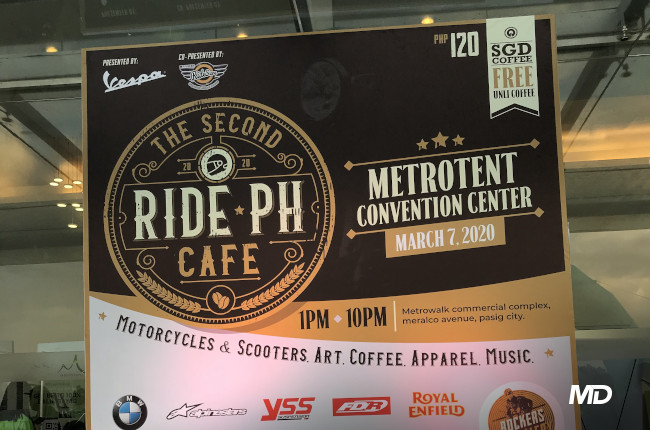 2020 Ride PH Cafe