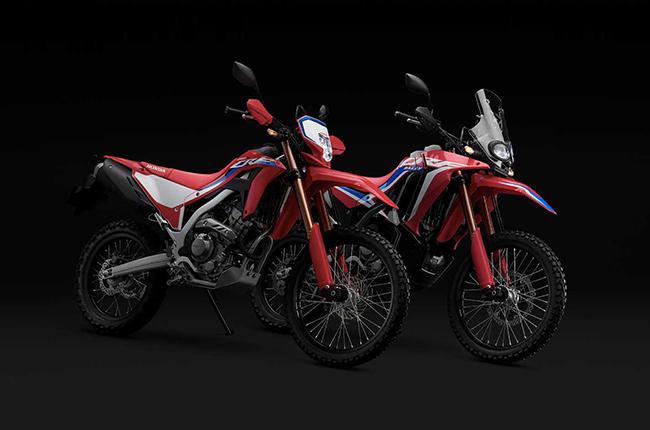2021 Honda CRF250L, CRF250L Rally