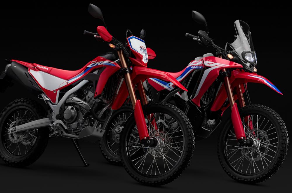 2021 Honda CRF300L and CRF300 Rally
