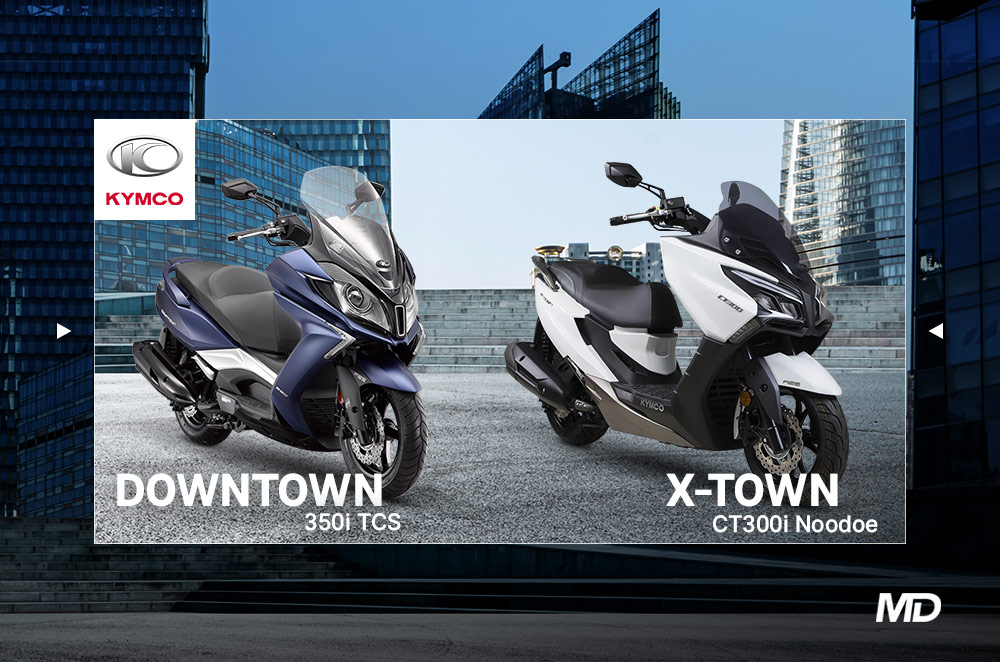 2021 Kymco X-Town and DownTown