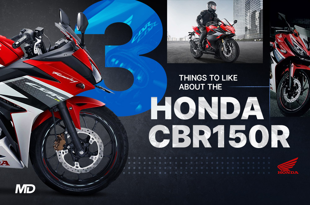 3 things to like about the Honda CBR150R