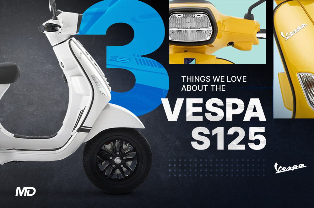3 things we love about the Vespa S125