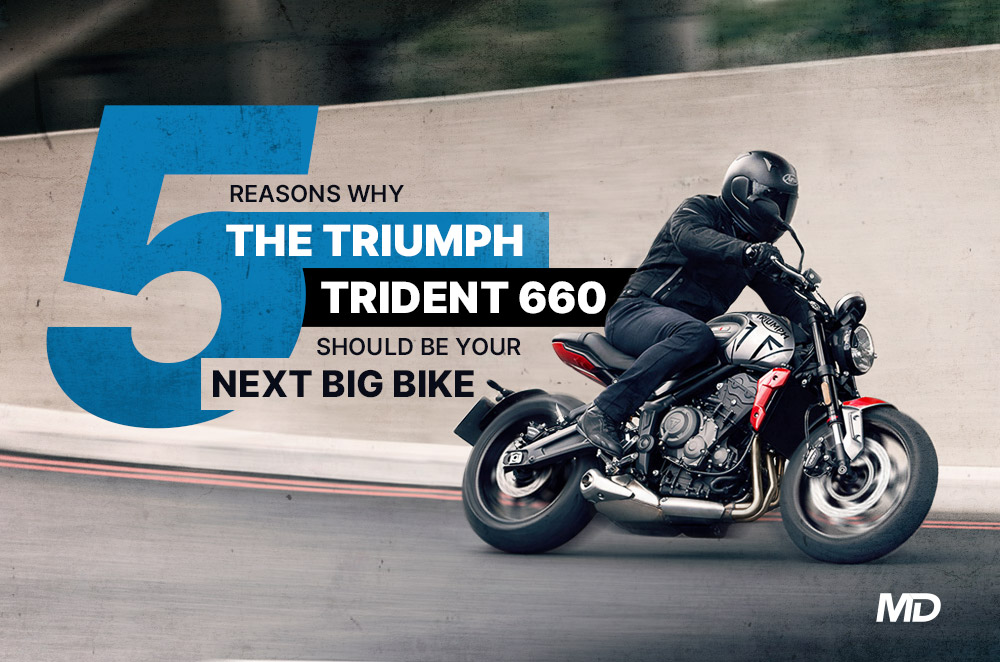 5 things we love about the Triumph Trident 660.