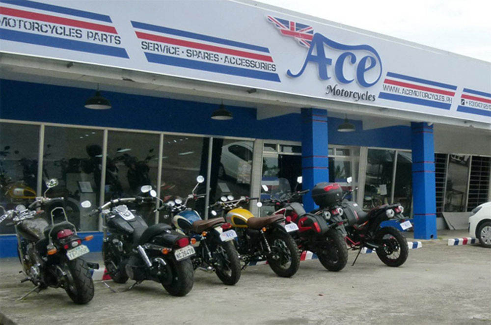 Ace Motorcycles Showroom