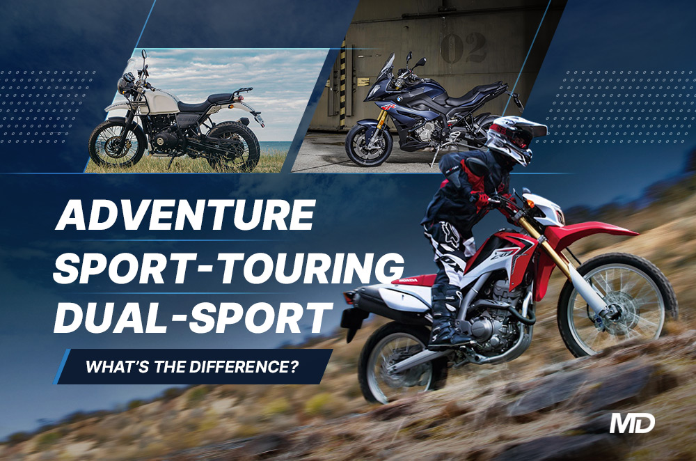 Adventure, sport-touring, dual-sport—what's the difference?