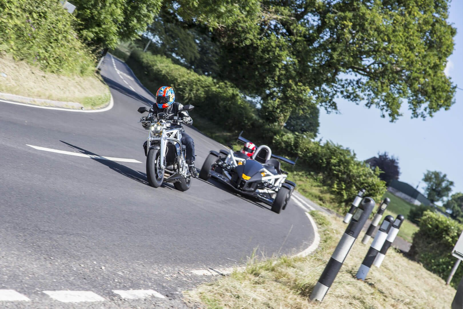 Ariel Ace and Atom