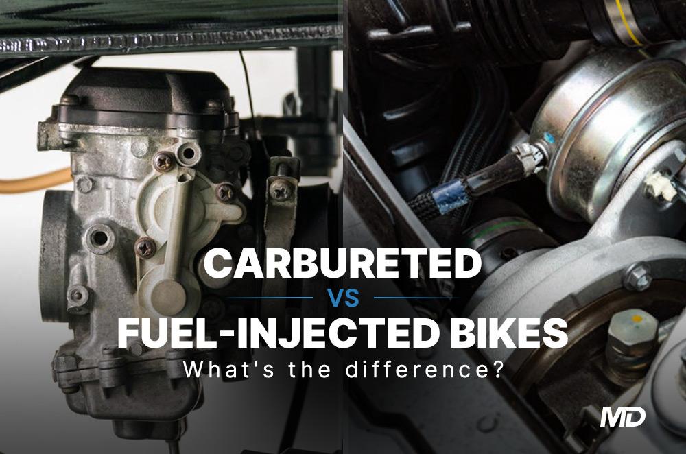 Carbureted vs fuel injected bikes
