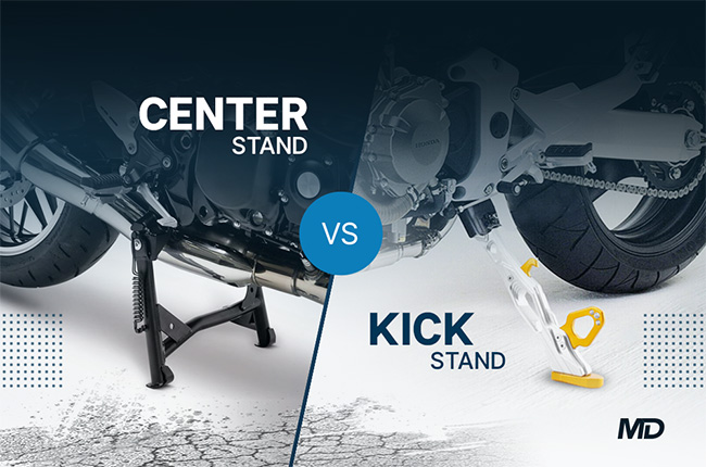 Center Stand vs Kick Stand