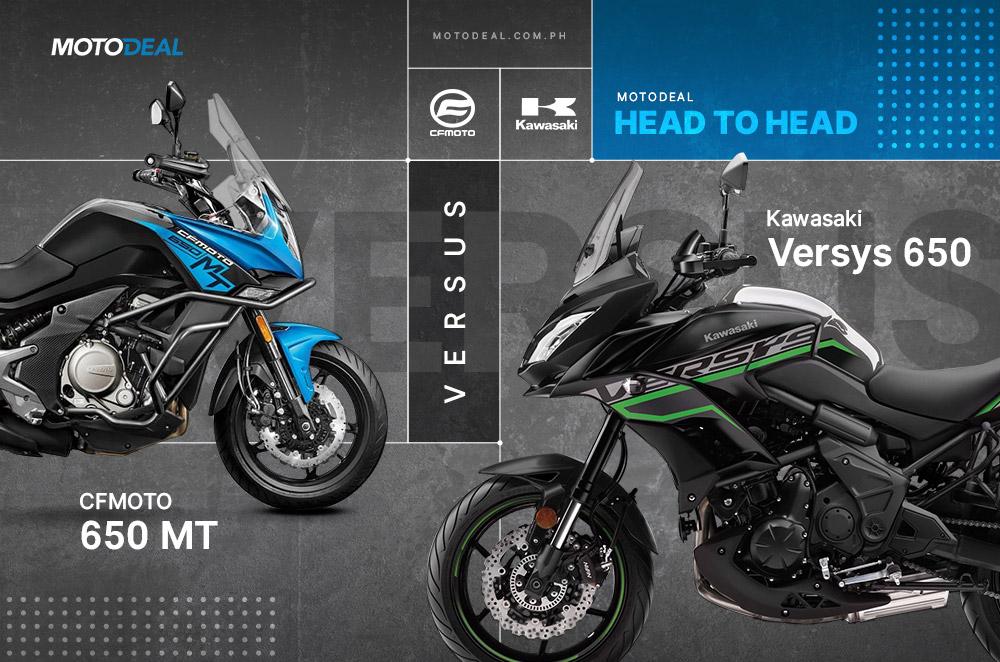CFMOTO 650 MT vs Kawasaki Versys 650 - Head to head