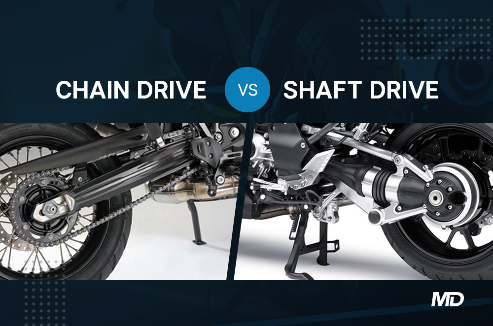 Chain Drive vs Shaft Drive