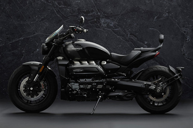 Check out the new Triumph Rocket 3 Black Edition