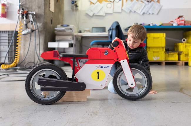 Check out this MV Agusta Balance Bike for kids