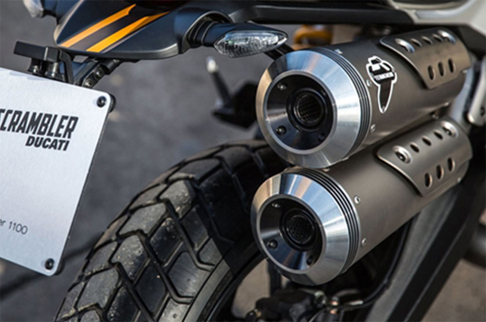Ducati Scrambler Exhaust