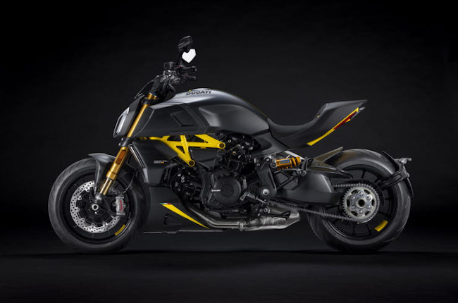 Ducati unveils striking Diavel 1260 Black and Steel edition