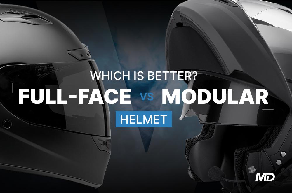 Full-face helmet vs modular helmet Which is better