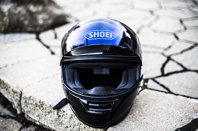 Helmet rider safety