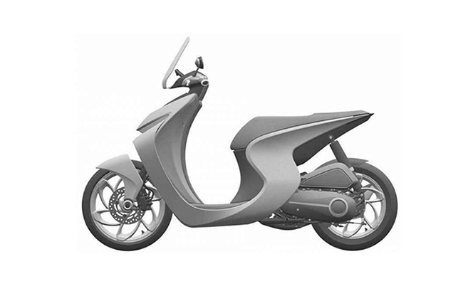 Honda Sports Scooter Patent