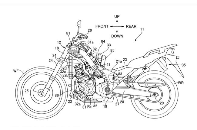 Honda Supercharged Adventure Motorcycle