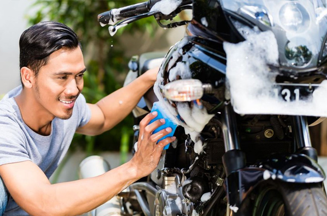 How to clean your motorcycle