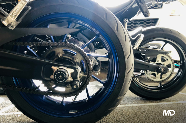 How to clean your motorcycle's drivetrain after a rainy ride