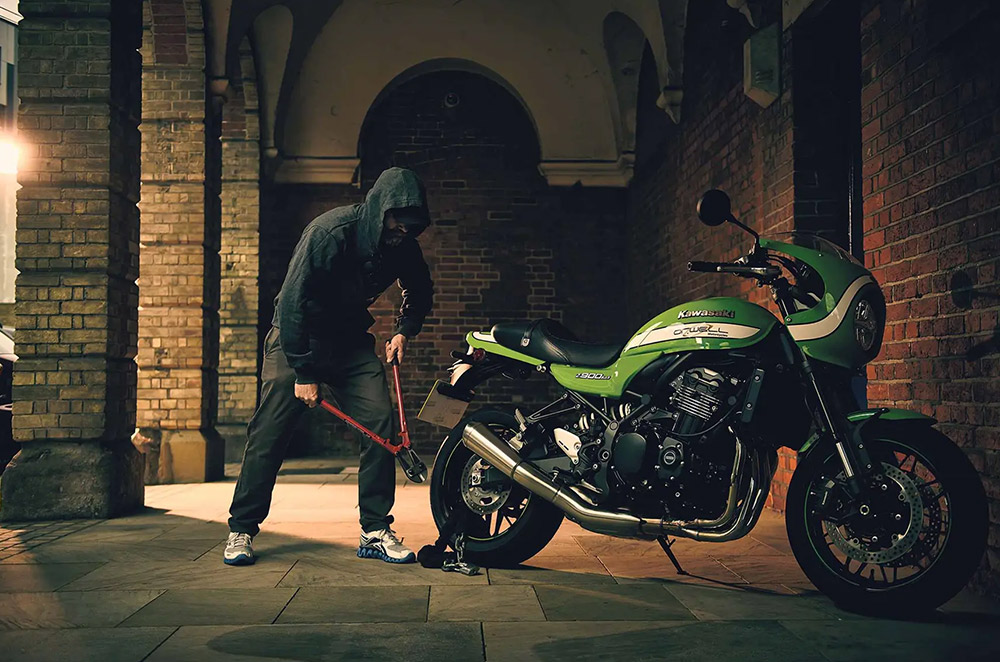 How to keep your motorcycle secure from theft