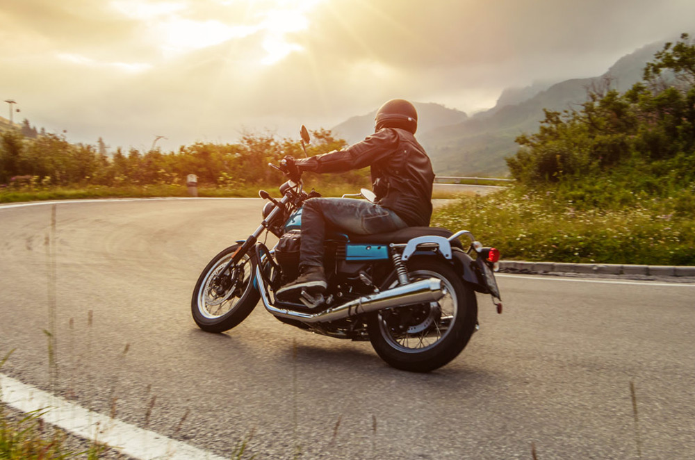 Is riding a motorcycle exercise?