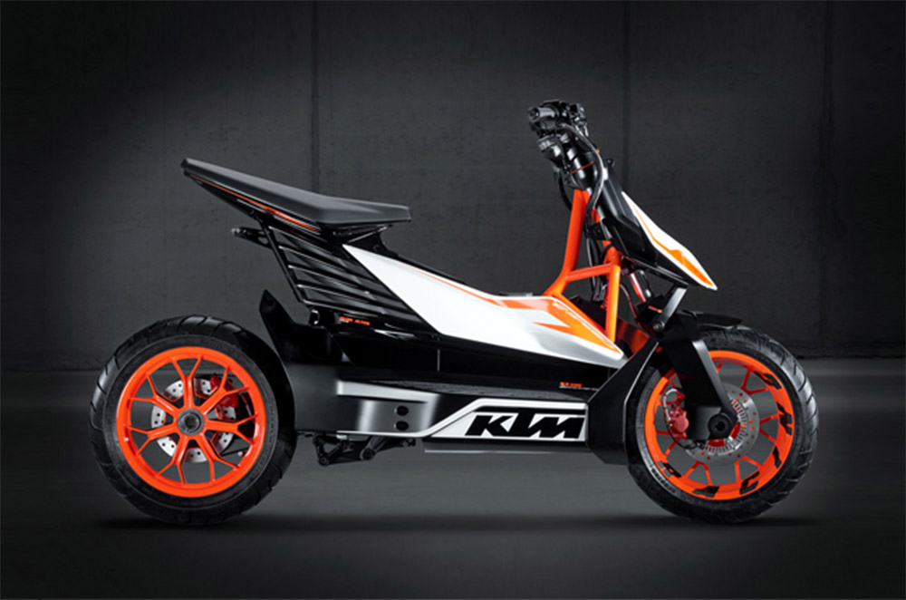 KTM - Bajaj Electric Scooter