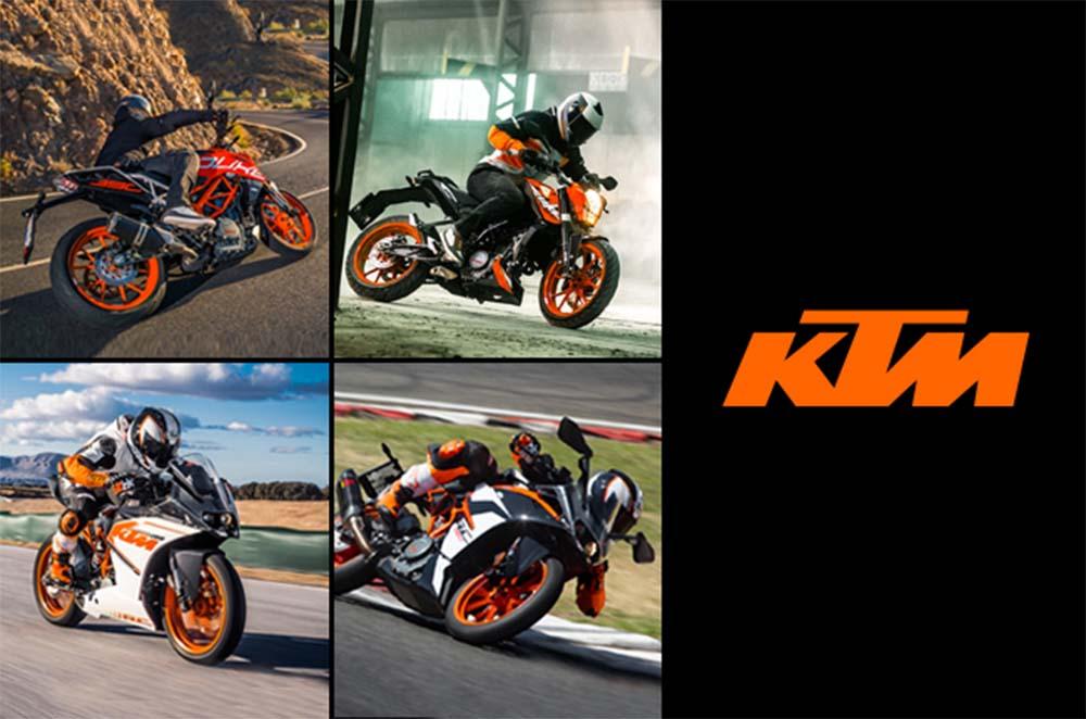 KTM Updated Prices