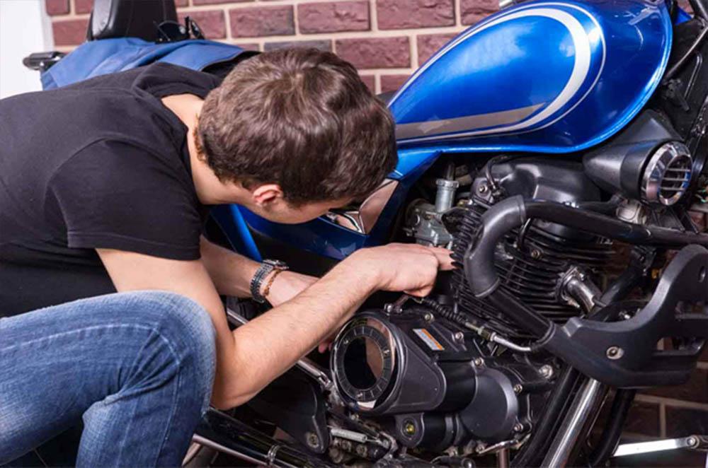 Long Term Motorcycle Storage
