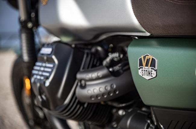 Moto Guzzi V7 Stone Centennial Edition