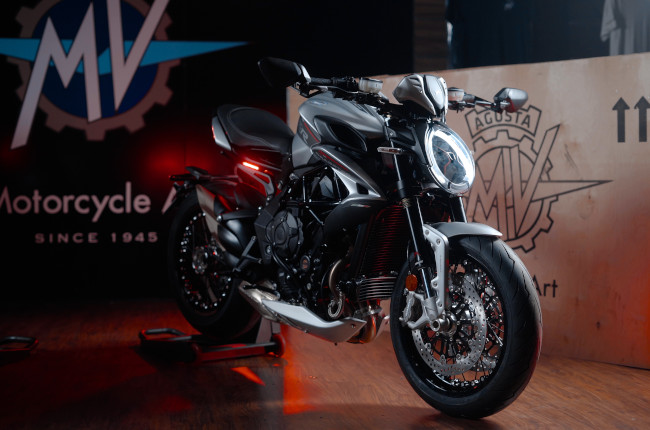 MV Agusta Dragster and Brutale 800 Launch