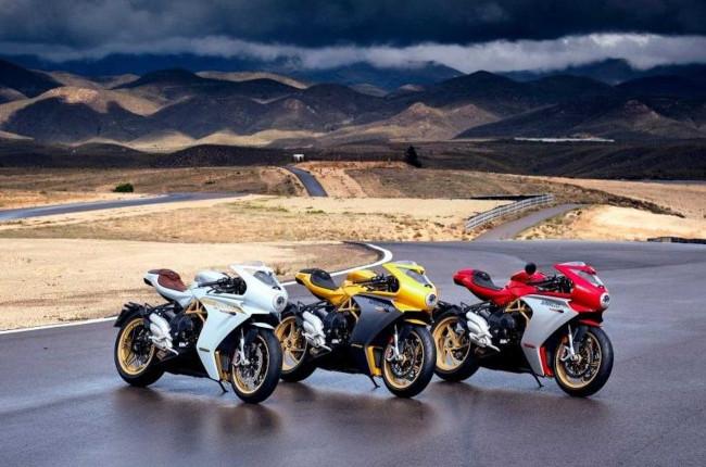 MV Agusta revamps Superveloce range of sportbikes