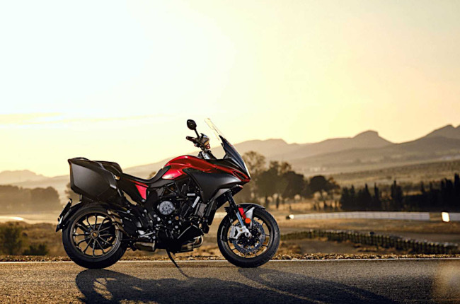 MV Agusta rider sets new world record by visiting 11 countries in 24 hours