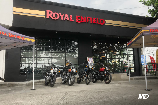 Royal Enfield Philippines inaugurates new showroom in Bulacan