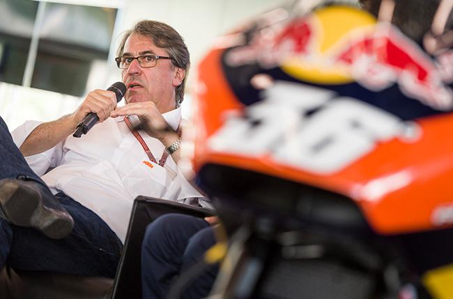 Stefan Pierer CEO, KTM