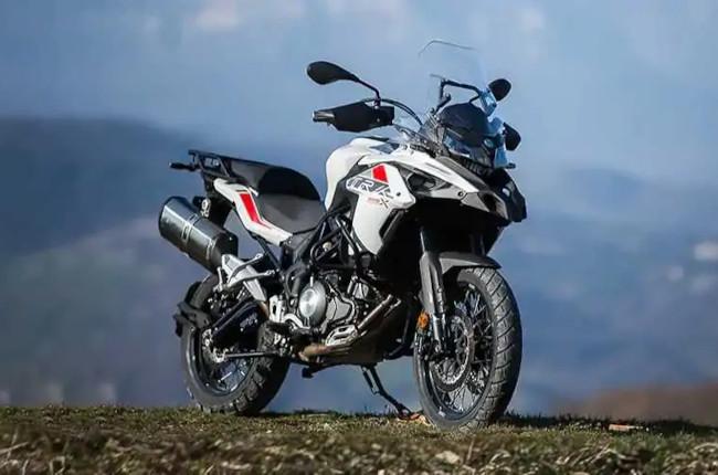 The Benelli TRK 502 adventure bike dominates the European market