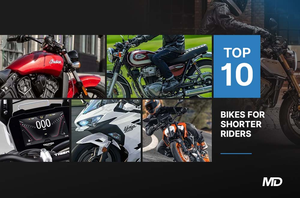 Top 10 Motorcycles for Shorter People