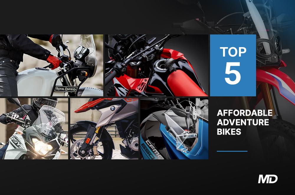 Top 5 Afforable Adventure Bikes