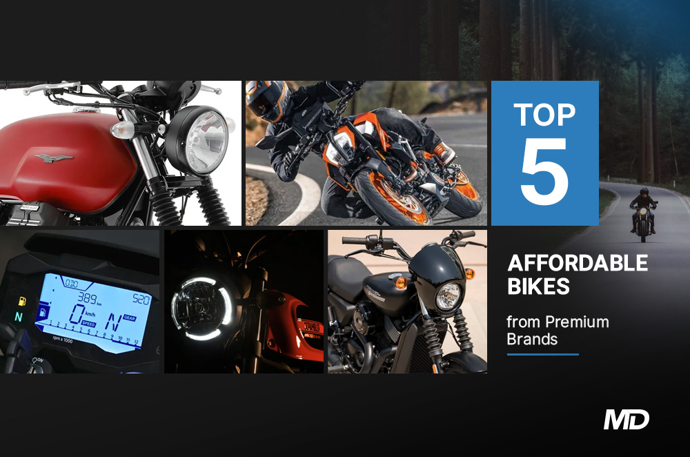 Top 5 affordable bikes from premium brands