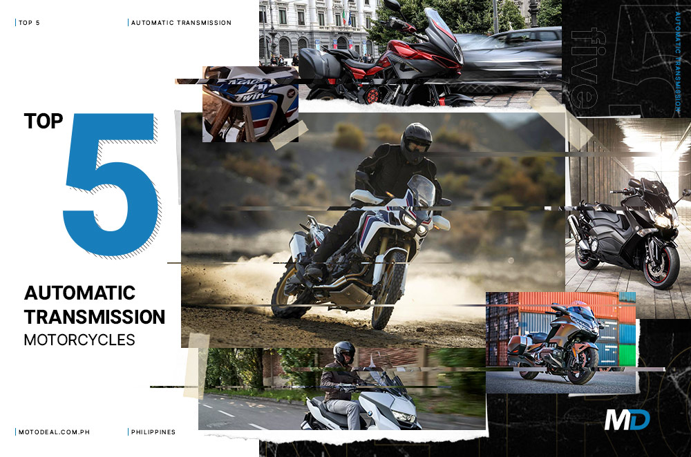 Top 5 automatic transmission motorcycles