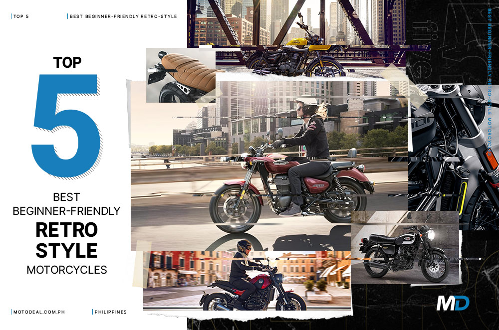 Top 5 best beginner-friendly retro-style motorcycles