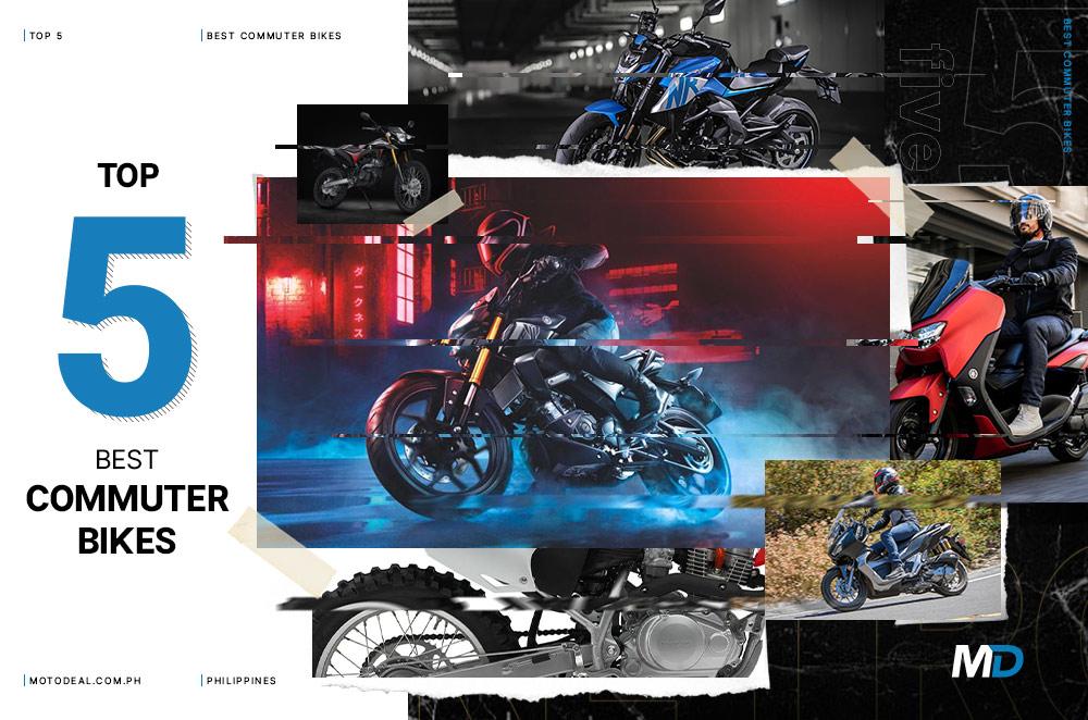 Top 5 best commuter motorcycles