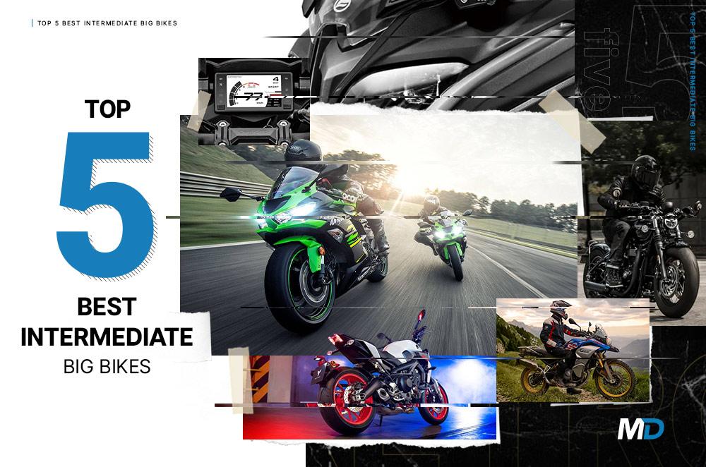 Top 5 best intermediate big bikes
