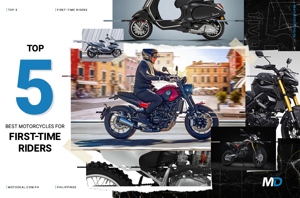 Top 5 best motorcycles for first-time riders