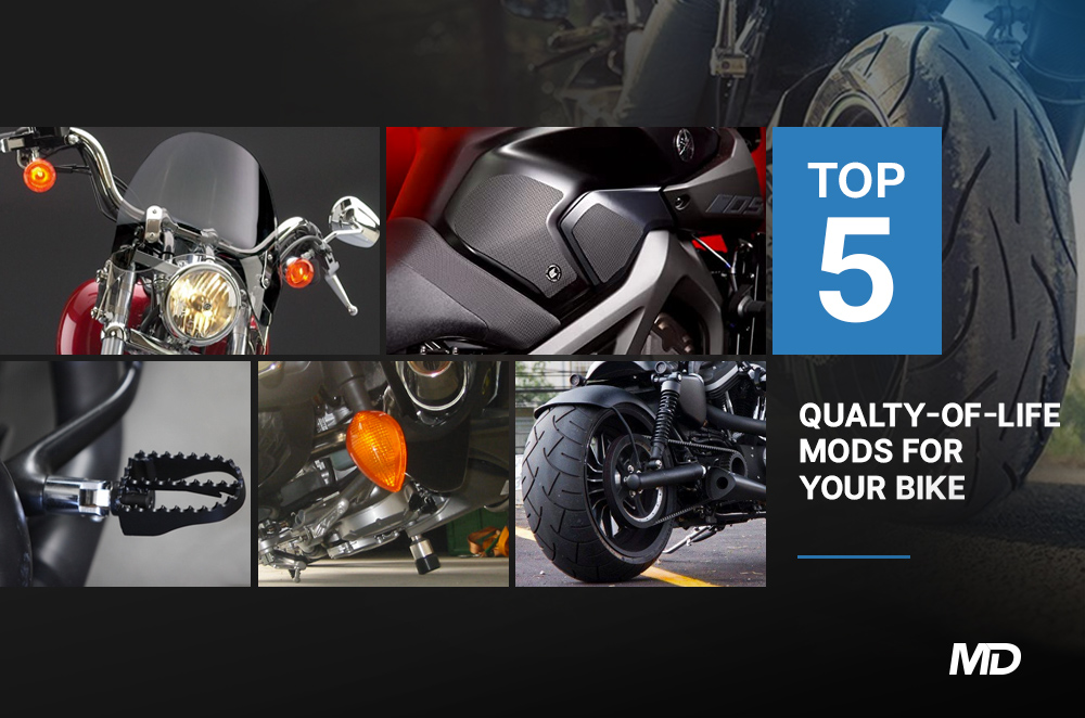 Top 5 quality of life mods for your bike