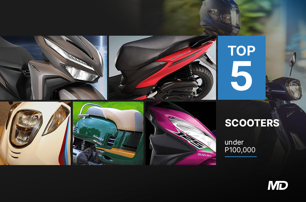 Top 5 Scooters under 100k