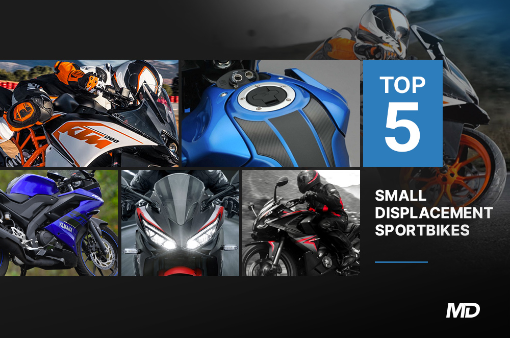 Top 5 Small Displacement Sportbikes