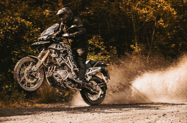 Triumph is working on a bigger and better Tiger 1200