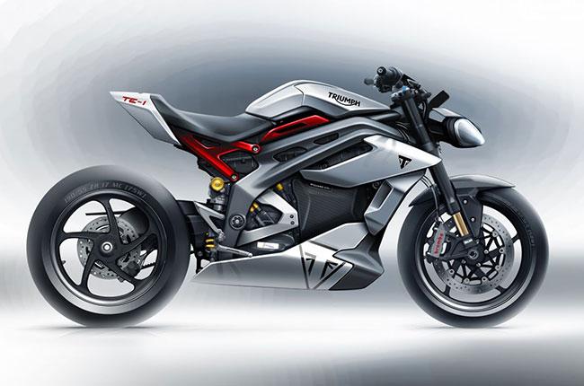 Triumph unveils TE-1 electric motorcycle concept